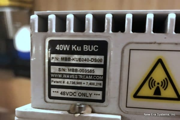 Wavestream 40W KU-Band BUC