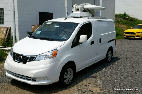 Nissan NV-200 Ku Uplink Truck