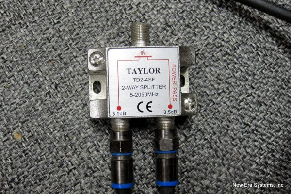 Taylor TD2-4SF 2 Port L-Band Splitter
