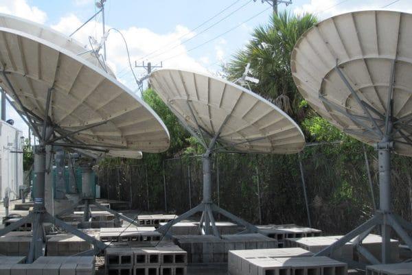 Prodelin 3.7M C-Band RO antenna -