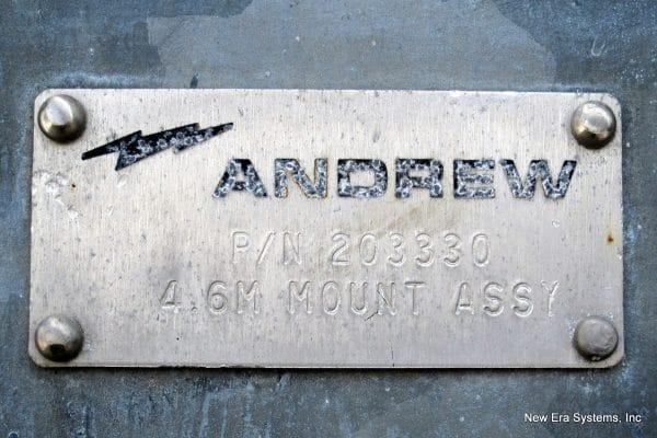 Andrew 4.5M C-Band Antenna
