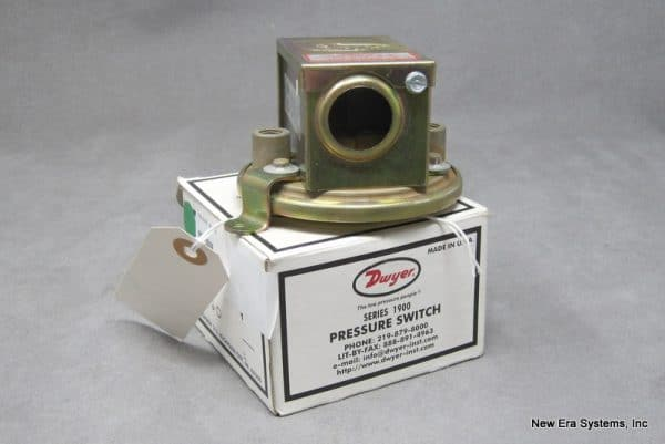 Dwyer 1910-20 Pressure Switch