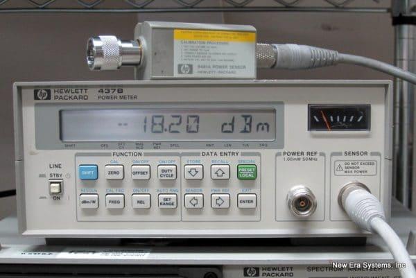 HP 437B Power Meter