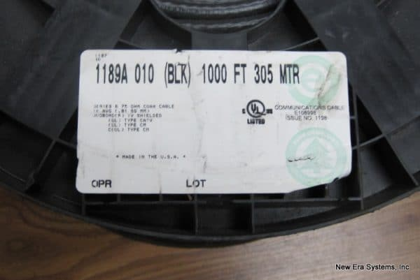 Belden 1189A RG6 Cable
