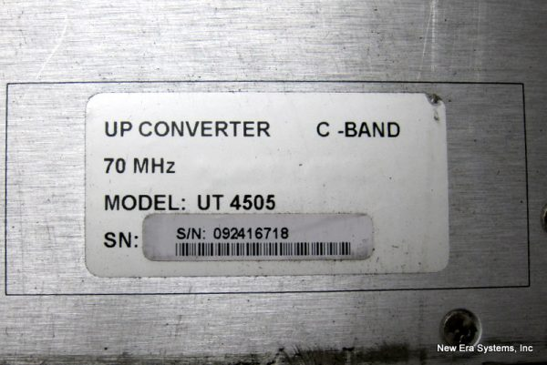 Comtech UT4505 C-Band Up Converter