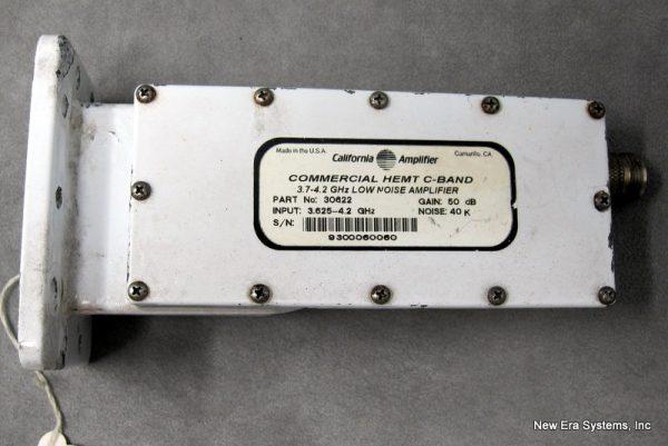 California Microwave C-Band LNA 30622