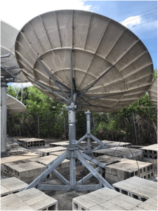 Andrew 3.7M C-Band Receive Only Antenna