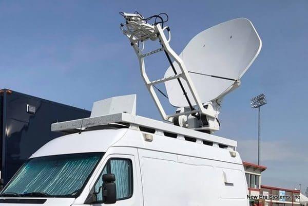 Vertex 2.4M C-Band Mobile Antenna