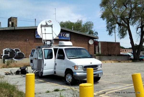 Ford Satellite Truck