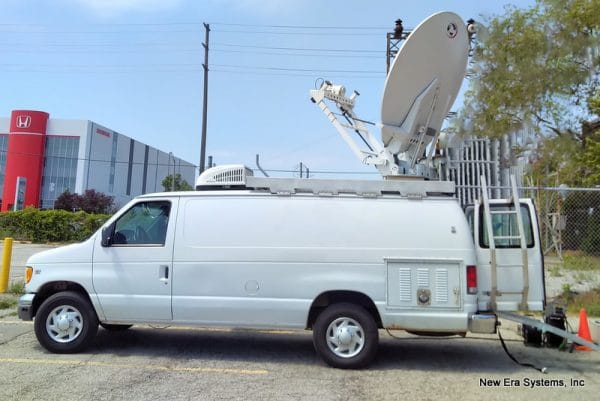 Ford Satellite Truck side view