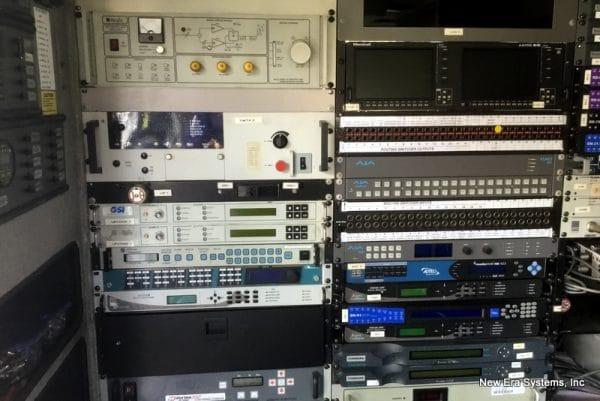 Ford Satellite Truck equipment console