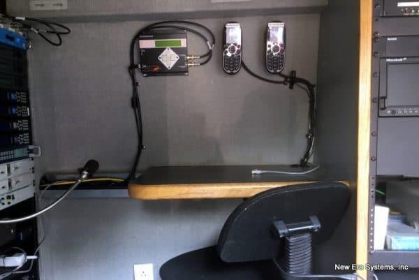 Ford Satellite Truck interior
