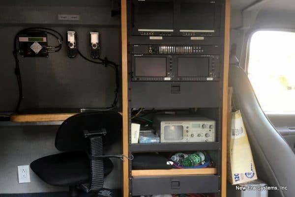 Ford Satellite Truck interior equipment